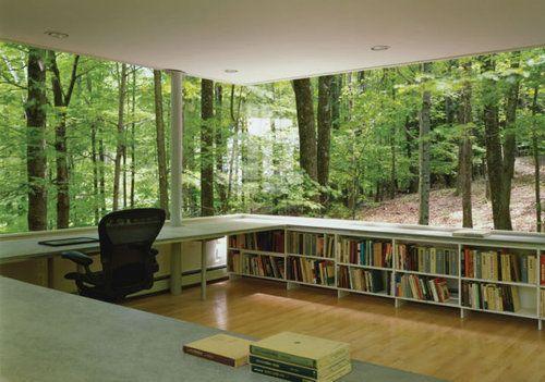 Ofiste doğal ortam.