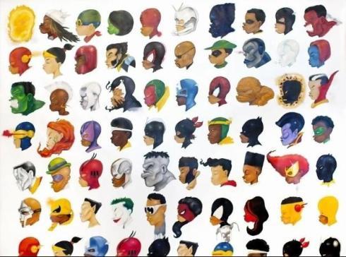 Hebru Brandley - Negro Mythes Series 2014 - Contemporary İstanbul