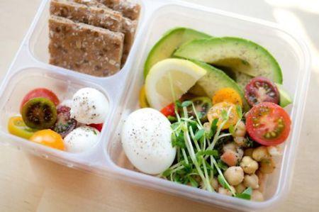 Ofiste sağlıklı öğle yemeği