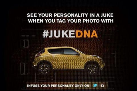 Nissan Juke Hashtag
