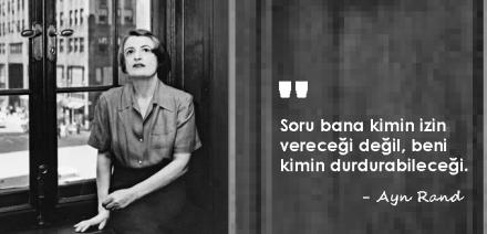 Ayn Rand filozof yazar