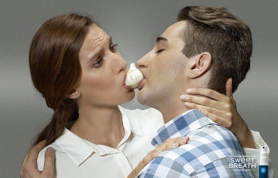 Young & Rubicam - Print - Garlic / Sweet Breath